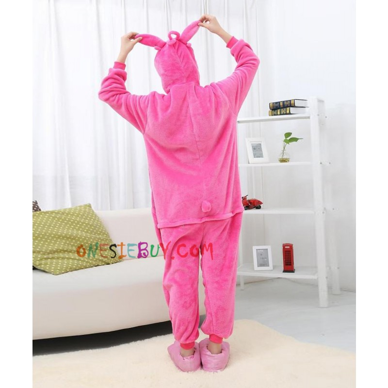 958167d468 Pink Stitch Kigurumi Onesie Pajamas Animal Costumes For Women   Men