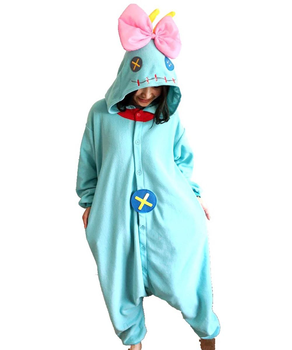 fae52c68baab Lilo   Stitch Kigurumi Onesie Pajamas Animal Costumes For Women   Men