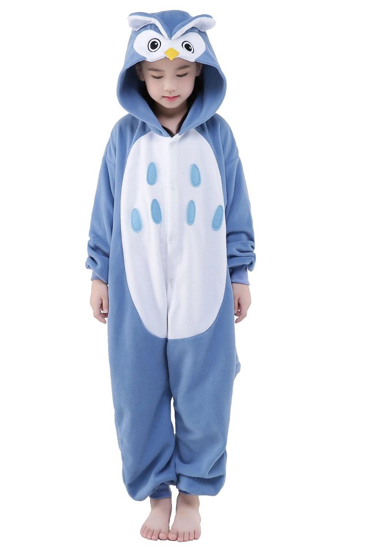 Kids Boys Girls Animal Character Onesies Fancy Dress Up Pyjamas Size Age 2 3 4 5 6 7 8 9 10 11 12 Years