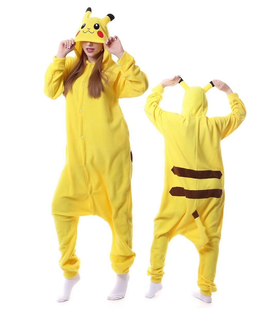 sc 1 st  Onesiebuy.com & Pikachu Kigurumi Costumes Pajama Onesies