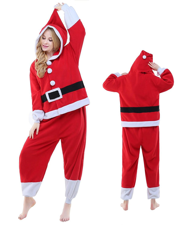 sc 1 st  Onesiebuy.com & Santa Claus Kigurumi Onesie Pajamas Animal Costumes For Adult
