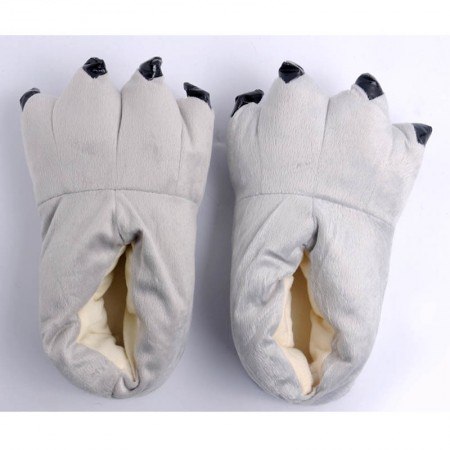 Grey Animal Onesies Kigurumi slippers shoes