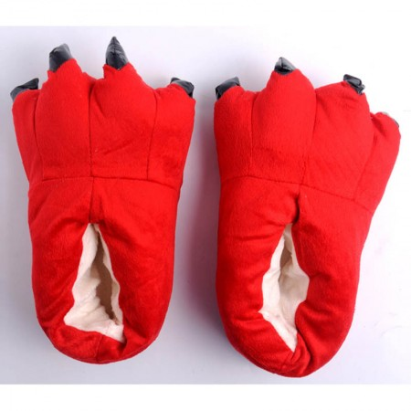 Red Animal Onesies Kigurumi slippers shoes
