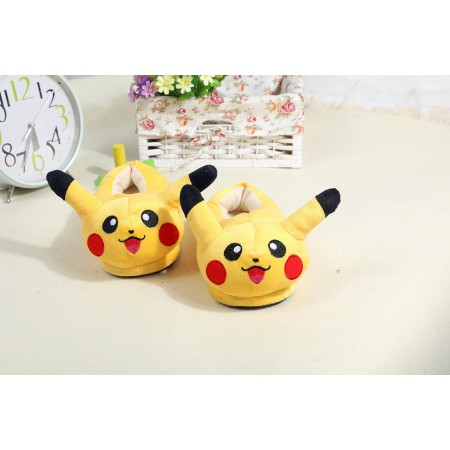 pikachu warm shoes plush slippers