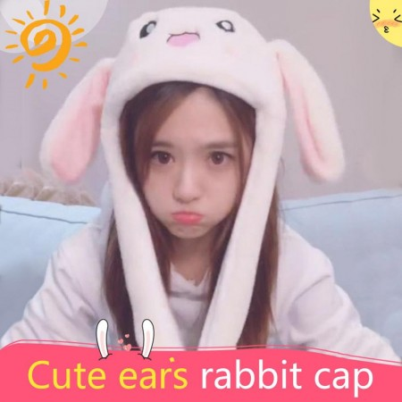 Cute ears rabbit cap
