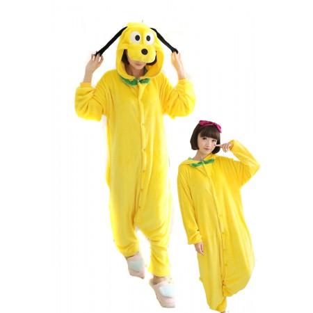 Pluto Dog Pajamas Animal Onesies Costume Kigurumi