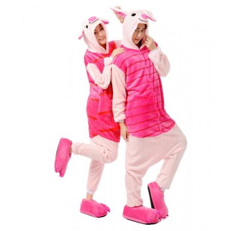 Winnie the pooh Piglet Animal Onesies Pajamas Costume Kigurumi