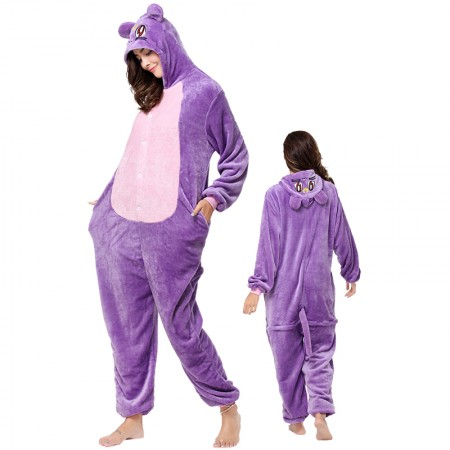 Cat Luna Onesie Animal Halloween Costumes for Women & Men