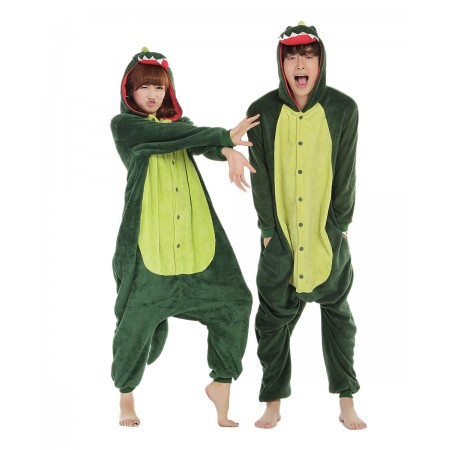 Dinosaur Kigurumi Onesie Pajamas Animal Costumes For Women & Men