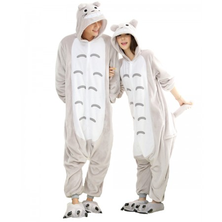 Totoro Kigurumi Onesie Pajamas Animal Costumes For Women & Men
