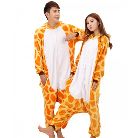 Giraffe Kigurumi Onesie Pajamas Animal Costumes For Women & Men