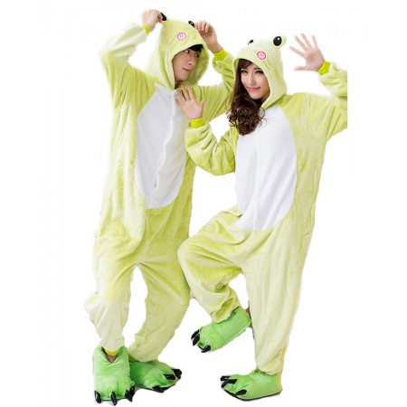 Frog Kigurumi Onesie Pajamas Animal Costumes For Women & Men