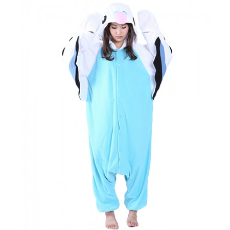 Blue Parrot Kigurumi Onesie Pajamas Animal Costumes For Women & Men