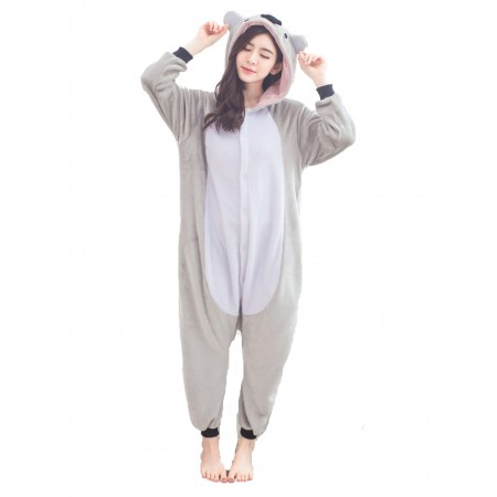 Koala Kigurumi Onesie Pajamas Animal Costumes For Women & Men
