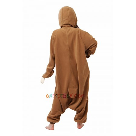 223645d6c92e Sloth Kigurumi Onesie Pajamas Animal Costumes For Women   Men