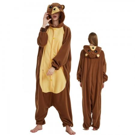 Teddy Bear Onesie Costume For Women & Men