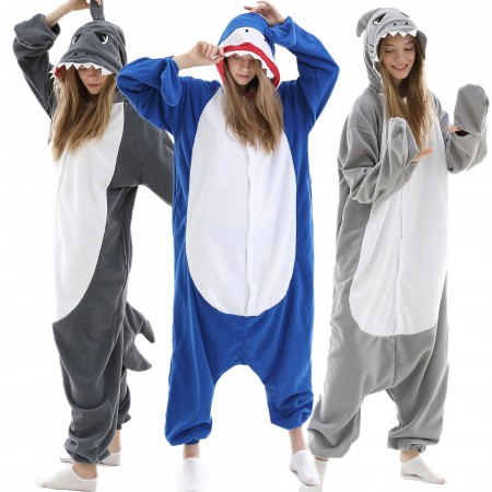 Shark Onesie Pajamas for Women & Men