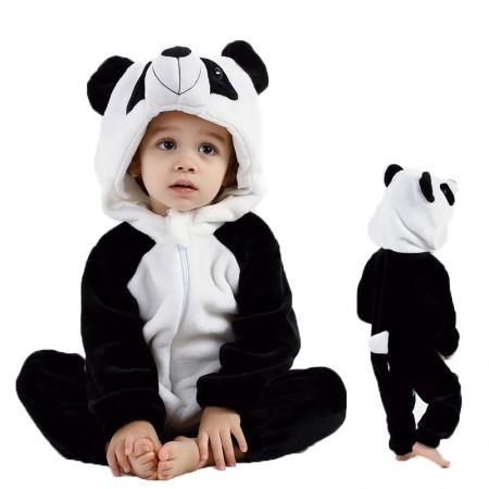 Baby Panda Onesie Romper Costume for Toddler