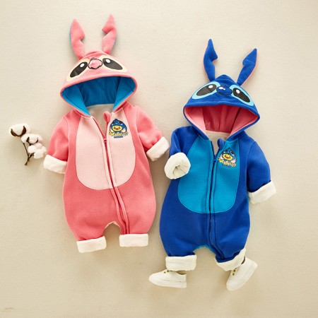 Baby Stitch & Angel Onesie Animal Costumes Outfit for Todders Girls & Boys