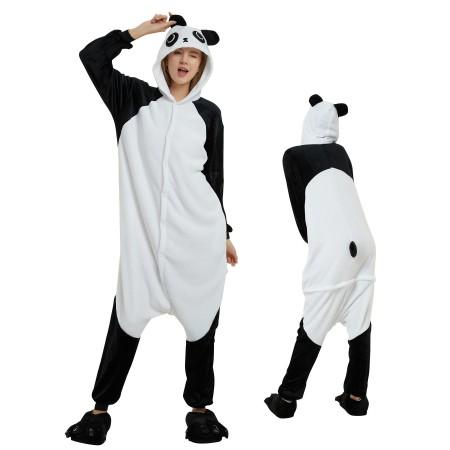 7ac428f190c8 Panda Onesie for Adult Kigurumi Animal Pajamas Funny Halloween Costumes