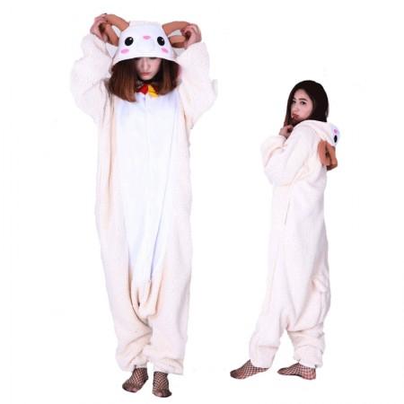 Goat Sheep Onesie Pajamas Kigurumi Animal Costumes For Adult