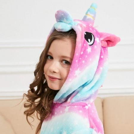 Best Unicorn Gifts Unicorn Hooded Bathrobe Sleepwear