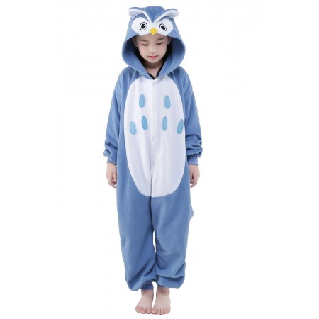 Owl Kigurumi Onesie Pajamas Animal Costumes for Kids
