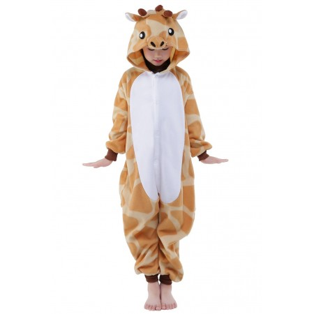 11f4fd7f43 Giraffe Kigurumi Onesie Pajamas Animal Costumes for Kids