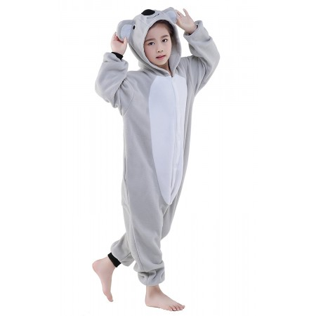 Koala Kigurumi Onesie Pajamas Animal Costumes for Kids