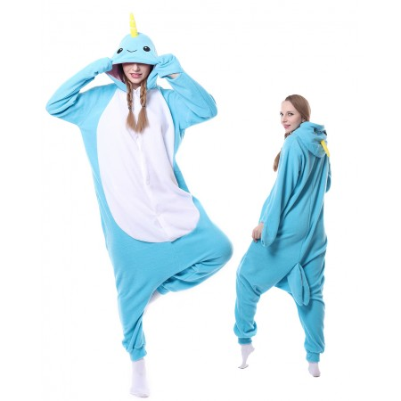 Narwhal Kigurumi Onesie Pajamas Animal Costumes For Women & Men