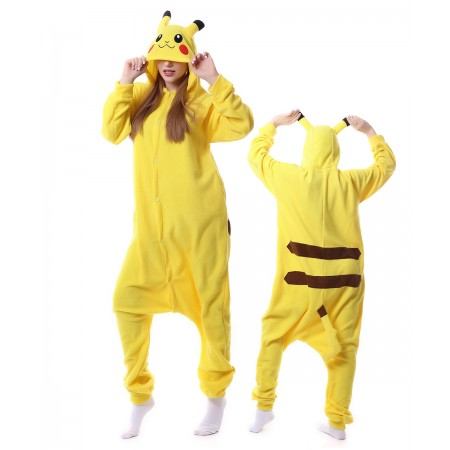 Pikachu Onesie Kigurumi Animal Pajama Women & Men Costumes