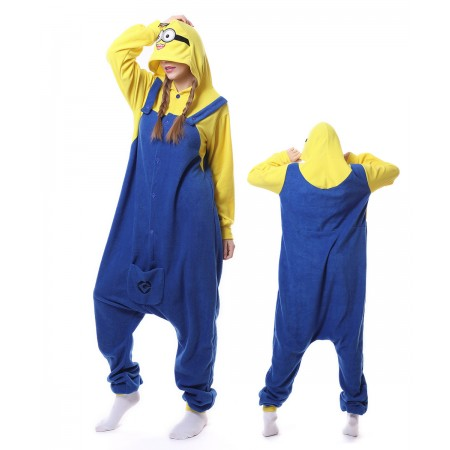 Minions Onesie Pajama Winter Warm Animal Costume For Women & Men