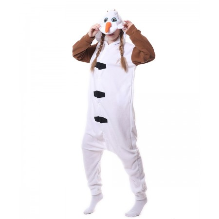 aa63a62d6107 Olaf Onesie Pajama Animal Costumes For Women   Men