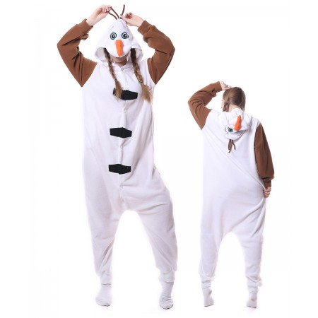 Olaf Onesie Pajama Animal Costumes For Women & Men