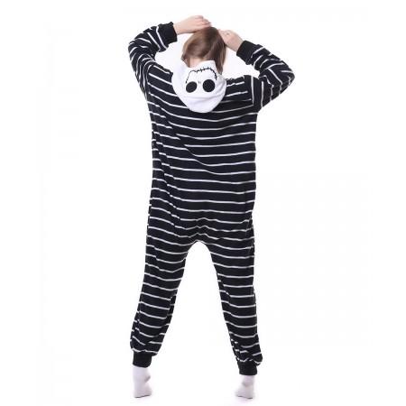 c673f37922 Jack Skellington Onesie Pajama Animal Costumes For Women   Men