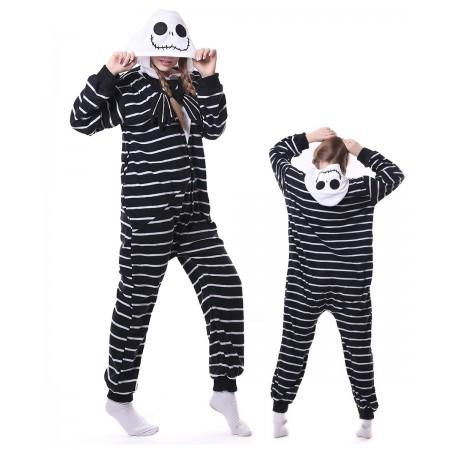 Jack Skellington Onesie Pajama Animal Costumes For Women & Men