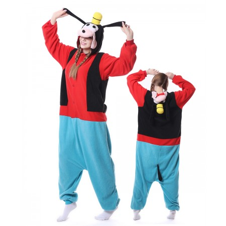 Goofy Dog Onesie Pajama Animal Costumes For Women & Men