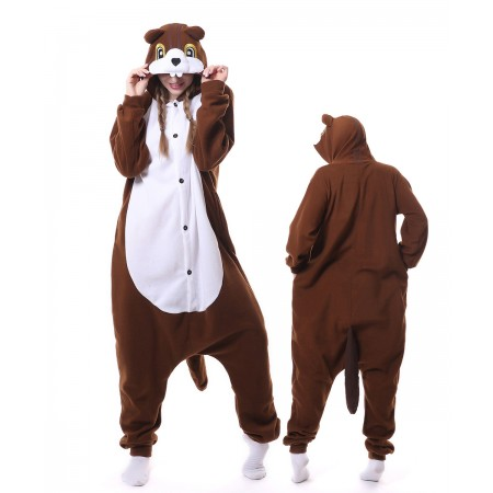 Chipmunk Onesie Pajama Animal Costumes For Women & Men