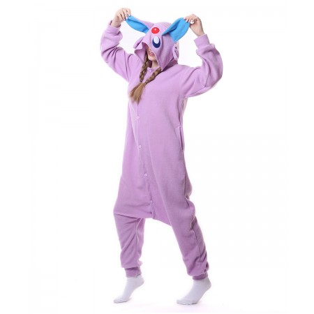 368da8ce7357 Espeon Pokemon Monster Onesie Pajama Animal Costumes For Women   Men