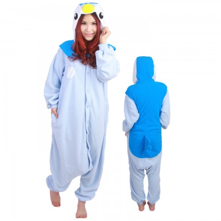 Pokemon Piplup Onesie Costumes For Adult & Teens