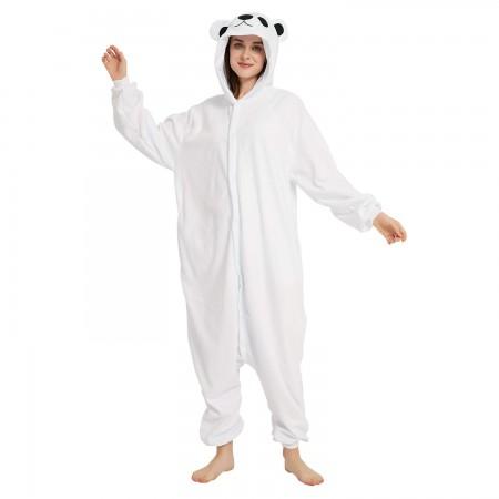 Polar Bear Onesie Pajamas For Adult & Teens Animal Costumes