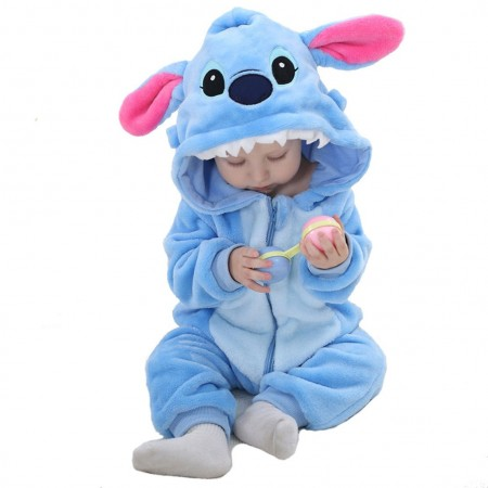 Baby Stitch Onesie Romper Costume for Toddler Girls & Boys