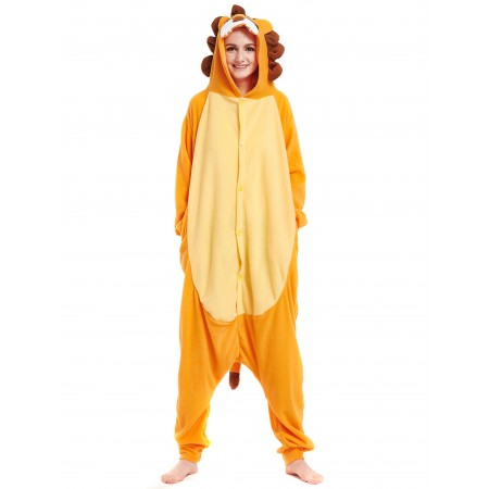 Lion Kigurumi Onesie Pajamas Animal Costumes For Women & Men