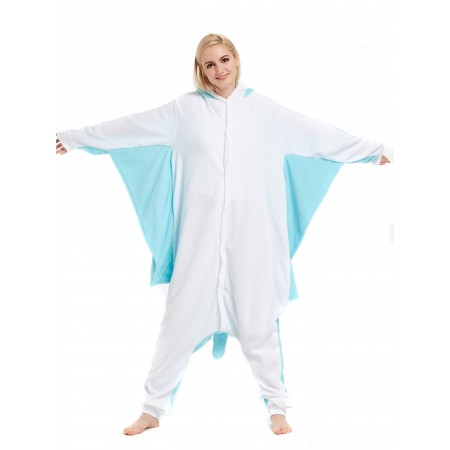 Blue Flying Squirrel Kigurumi Onesie Pajamas Animal Costumes For Women & Men