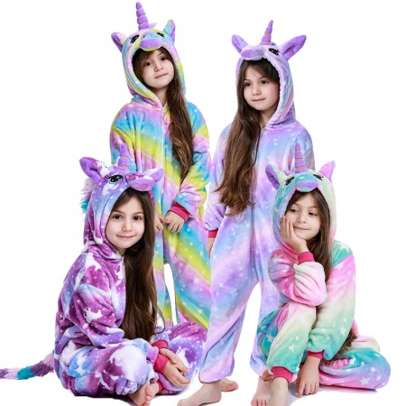 Kids Unicorn Onesie Costumes Outfit For Boys & Girls Best Gifts