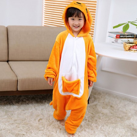 Kangaroo Onesie Pajamas Animal Kigurumi Costumes for Kids