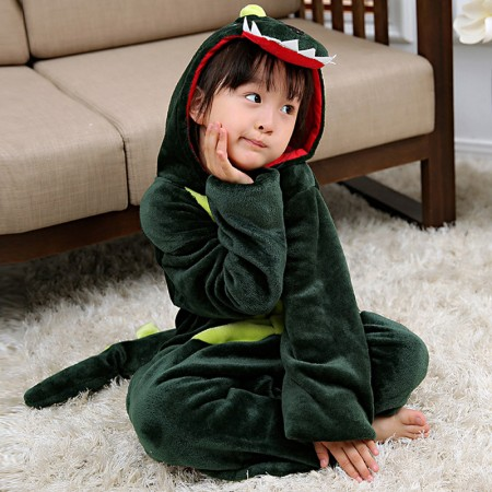 Dinosaur Onesie Pajamas Animal Kigurumi Costumes for Kids