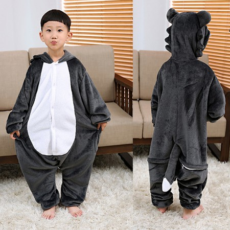 Wolf Onesie Pajamas Animal Kigurumi Costumes for Kids