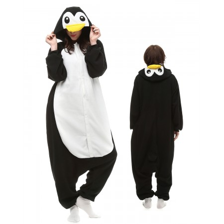 Penguin Kigurumi Onesie Pajamas Animal Costumes For Adult