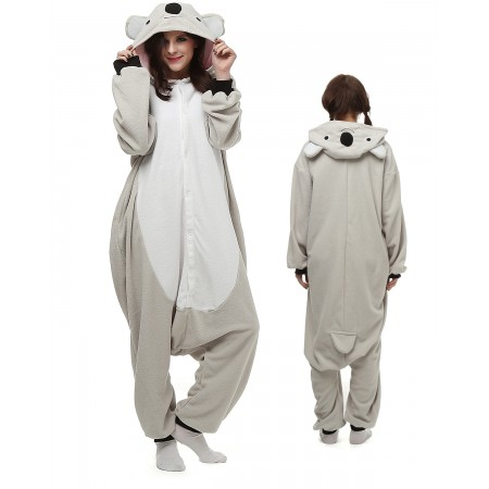 Koala Kigurumi Onesie Pajamas Animal Costumes For Adult